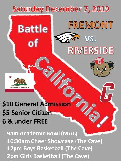 Fremont Eagles vs Riverside Cubs