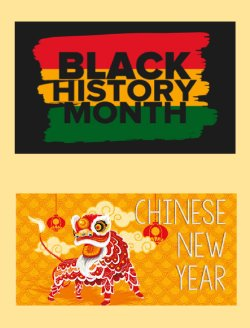 Story Themes: Black History Month & Chinese New Year